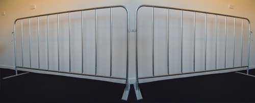 Crowd Control Barriers from Binley Fencing